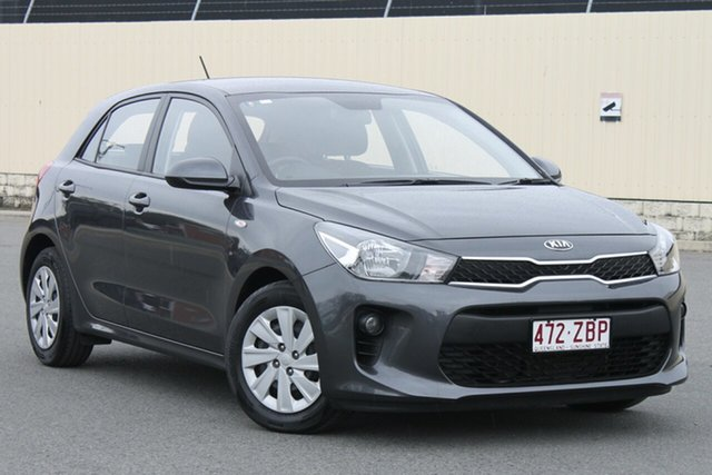 Used Kia Rio YB MY17 S, 2017 Kia Rio YB MY17 S Platinum Graphite 4 Speed Sports Automatic Hatchback