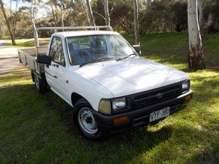 1997 Toyota Hilux RN85R 4x2 5 Speed Manual Utility.