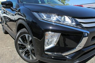 2019 Mitsubishi Eclipse Cross YA MY19 ES 2WD Black 8 Speed Constant Variable Wagon.