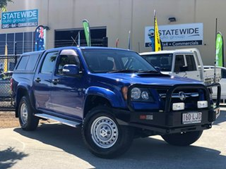 2008 Holden Colorado RC LX Crew Cab Blue 5 Speed Manual Cab Chassis.