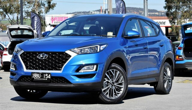 Demo Hyundai Tucson TL4 MY20 Active X 2WD, 2019 Hyundai Tucson TL4 MY20 Active X 2WD Aqua Blue 6 Speed Automatic Wagon
