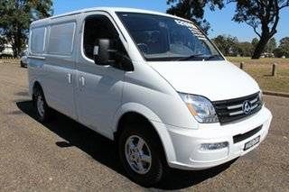 2018 LDV V80 MY17 Low Roof SWB Blanc White 6 Speed Automated Manual Van.