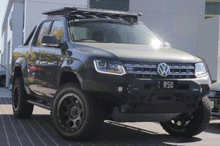 2019 Volkswagen Amarok 2H MY19 TDI550 4MOTION Perm Highline Indium Grey 8 Speed Automatic Utility.