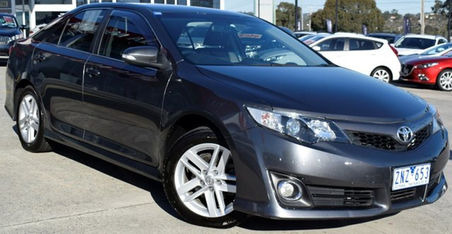 Used Toyota Camry ASV50R Atara SX, 2012 Toyota Camry ASV50R Atara SX Grey 6 Speed Sports Automatic Sedan