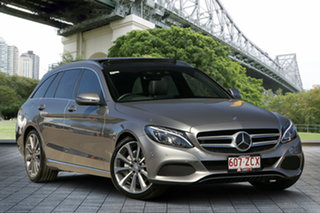 2015 Mercedes-Benz C-Class S205 C250 Estate 7G-Tronic + Grey 7 Speed Sports Automatic Wagon.
