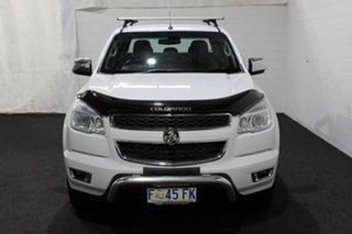 2016 Holden Colorado RG MY16 LTZ Crew Cab Summit White 6 Speed Manual Utility.