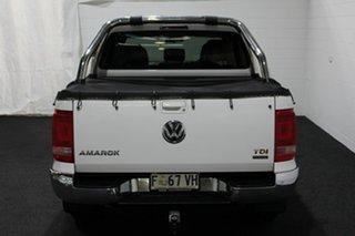 2013 Volkswagen Amarok 2H MY13 TDI420 4Motion Perm Highline White 8 Speed Automatic Utility