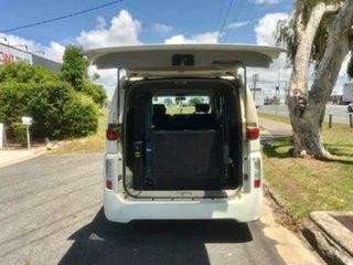 2004 Nissan Elgrand Highwaystar White 5 Speed Automatic Van