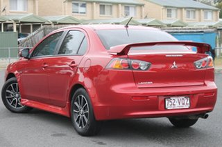 2014 Mitsubishi Lancer CJ MY14 ES Red 6 Speed Constant Variable Sedan.