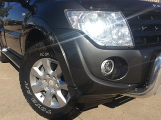 2014 Mitsubishi Pajero NW MY14 GLX-R Grey 5 Speed Sports Automatic Wagon.