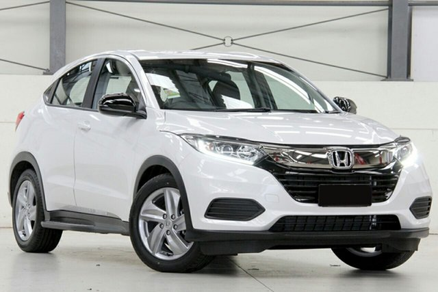 New Honda HR-V MY20 50 Years Edition, 2019 Honda HR-V MY20 50 Years Edition Platinum White 1 Speed Constant Variable Hatchback