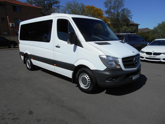 Used Mercedes-Benz Sprinter 906 MY14 313 CDI MWB, 2014 Mercedes-Benz Sprinter 906 MY14 313 CDI MWB White 7 Speed Automatic Van