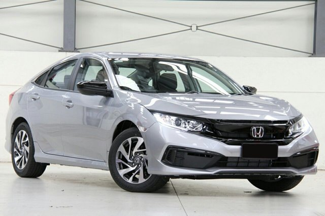 New Honda Civic 10th Gen MY19 50 Years Edition, 2019 Honda Civic 10th Gen MY19 50 Years Edition Lunar Silver 1 Speed Constant Variable Sedan