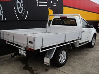 2012 Holden Colorado RG MY13 DX Summit White 5 Speed Manual Cab Chassis.