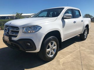 2017 Mercedes-Benz X-Class 470 X250d 4MATIC Progressive White 6 Speed Manual Utility