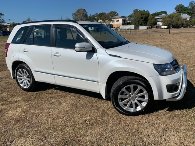 Used Suzuki Grand Vitara JT MY13 Prestige (4x4), 2012 Suzuki Grand Vitara JT MY13 Prestige (4x4) White 4 Speed Automatic Wagon