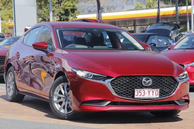Demo Mazda 3 BP2S7A G20 SKYACTIV-Drive Pure, 2019 Mazda 3 BP2S7A G20 SKYACTIV-Drive Pure Soul Red Crystal 6 Speed Sports Automatic Sedan