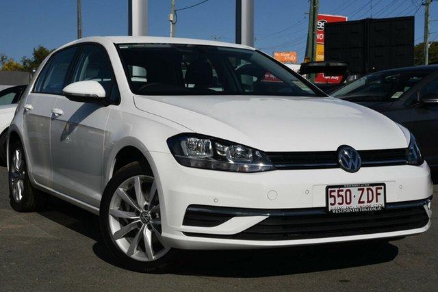 Demo Volkswagen Golf 7.5 MY19.5 110TSI DSG Comfortline, 2019 Volkswagen Golf 7.5 MY19.5 110TSI DSG Comfortline Pure White 7 Speed