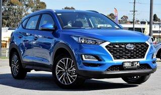 2019 Hyundai Tucson TL4 MY20 Active X 2WD Aqua Blue 6 Speed Automatic Wagon.