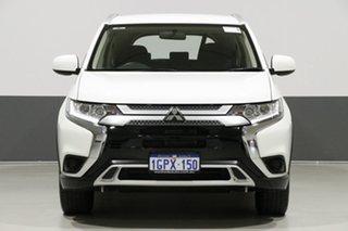 2018 Mitsubishi Outlander ZL MY19 ES 7 Seat (AWD) White Continuous Variable Wagon.