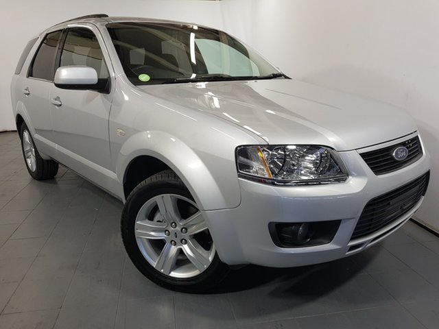 Used Ford Territory SY MkII TS RWD Limited Edition, 2009 Ford Territory SY MkII TS RWD Limited Edition Silver 4 Speed Sports Automatic Wagon