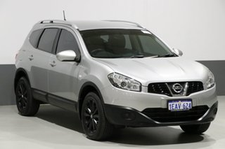 2012 Nissan Dualis J10 Series II +2 ST (4x2) Silver 6 Speed CVT Auto Sequential Wagon