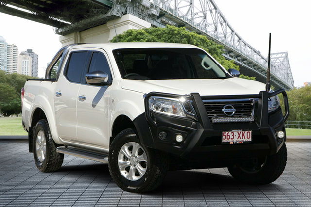 Used Nissan Navara D23 S2 ST, 2017 Nissan Navara D23 S2 ST White 7 Speed Sports Automatic Utility