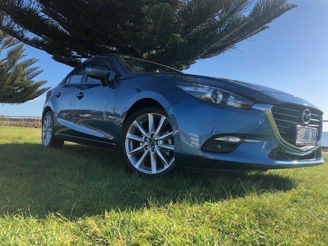 Used Mazda 3 BN5238 SP25 SKYACTIV-Drive, 2017 Mazda 3 BN5238 SP25 SKYACTIV-Drive Blue 6 Speed Sports Automatic Sedan