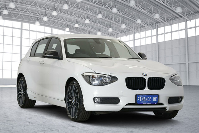Used BMW 1 Series F20 , 2013 BMW 1 Series F20 White 8 Speed Sports Automatic Hatchback