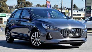 2019 Hyundai i30 PD2 MY19 Active Iron Gray 6 Speed Sports Automatic Hatchback.