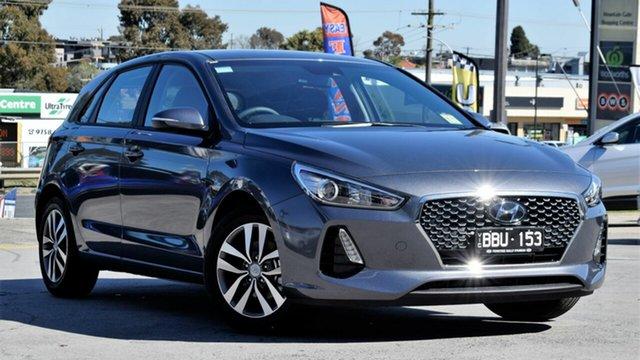 Demo Hyundai i30 PD2 MY19 Active, 2019 Hyundai i30 PD2 MY19 Active Iron Gray 6 Speed Sports Automatic Hatchback