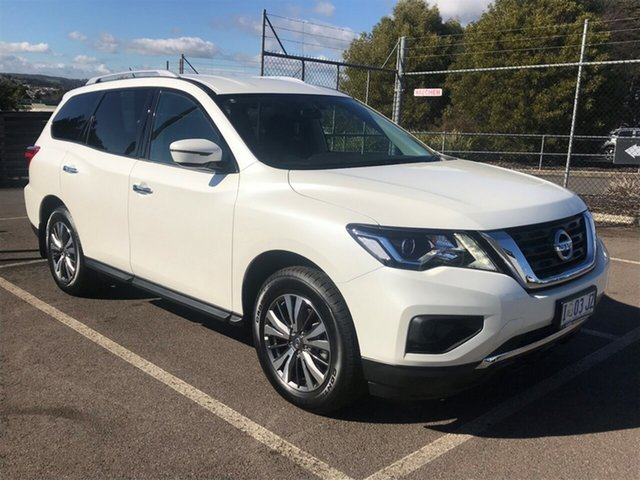 Demo Nissan Pathfinder R52 Series III MY19 ST X-tronic 2WD, 2018 Nissan Pathfinder R52 Series III MY19 ST X-tronic 2WD Ivory Pearl 1 Speed Constant Variable