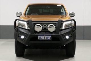 2016 Nissan Navara NP300 D23 ST (4x4) Orange 6 Speed Manual Dual Cab Utility.