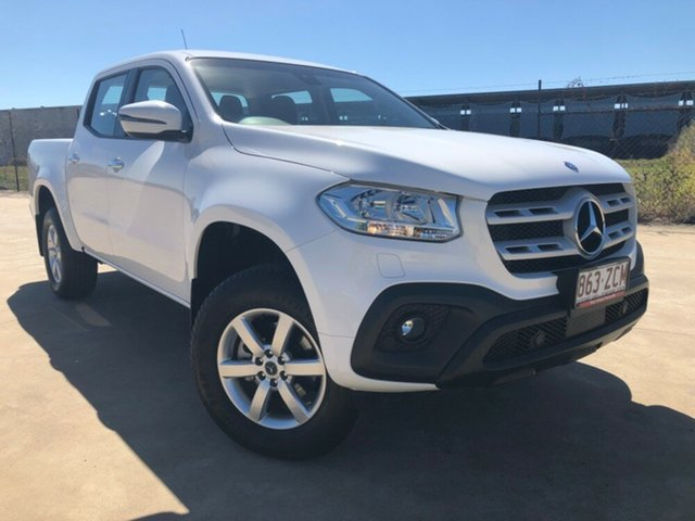 Used Mercedes-Benz X-Class 470 X250d 4MATIC Progressive, 2017 Mercedes-Benz X-Class 470 X250d 4MATIC Progressive White 6 Speed Manual Utility