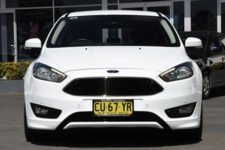 2016 Ford Focus LZ Titanium White 6 Speed Automatic Hatchback