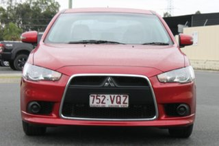 2014 Mitsubishi Lancer CJ MY14 ES Red 6 Speed Constant Variable Sedan