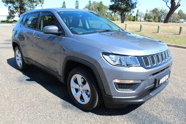 Used Jeep Compass M6 MY18 Sport FWD, 2018 Jeep Compass M6 MY18 Sport FWD Grey Magnesio 6 Speed Manual Wagon