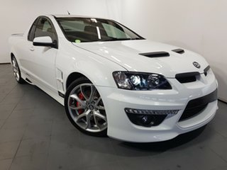 2013 Holden Special Vehicles Maloo E Series 3 MY12.5 White 6 Speed Manual Utility.