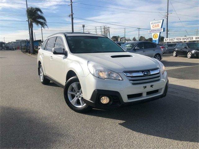 Used Subaru Outback  2.0D Premium, 2013 Subaru Outback B5A 2.0D Premium White Manual Wagon