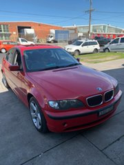 2004 BMW 3 Series E46 MY2004 Red 5 Speed Sports Automatic Sedan.