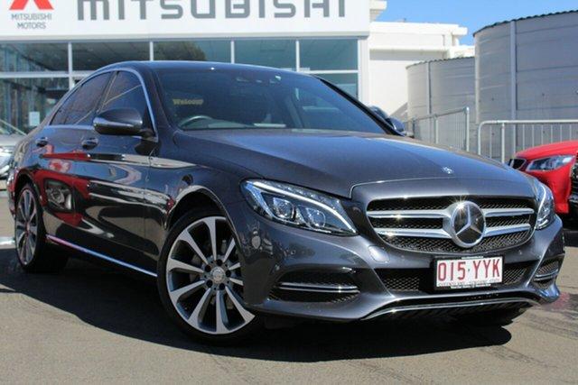Used Mercedes-Benz C-Class W205 , 2014 Mercedes-Benz C-Class W205 Grey 7 Speed Sports Automatic Sedan
