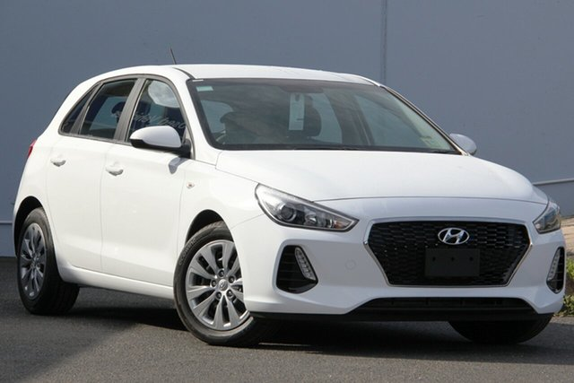 New Hyundai i30 PD MY19 Go, 2019 Hyundai i30 PD MY19 Go Polar White 6 Speed Manual Hatchback