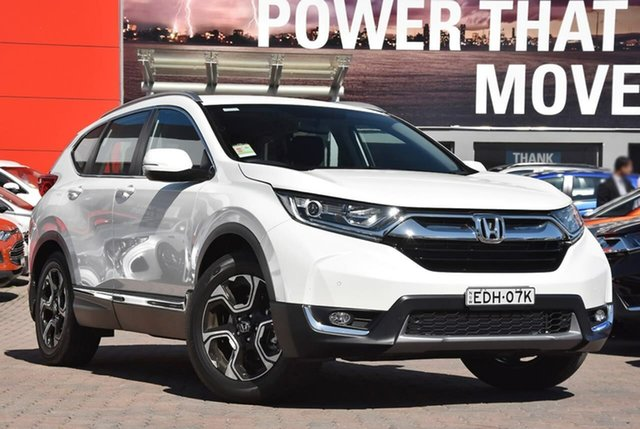 Demo Honda CR-V RW MY19 VTi-S FWD, 2019 Honda CR-V RW MY19 VTi-S FWD White 1 Speed Constant Variable Wagon