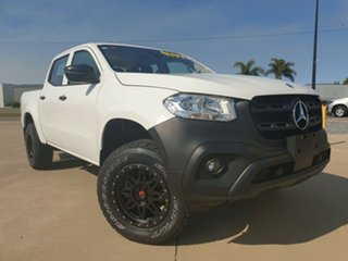 2017 Mercedes-Benz X-Class 470 X220d 4MATIC Pure White 6 Speed Manual Utility.