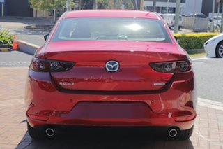 2020 Mazda 3 BP G20 Pure Soul Red Crystal 6 Speed Automatic Sedan