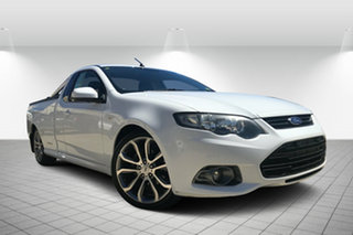 2012 Ford Falcon FG MkII XR6 Ute Super Cab White 6 Speed Sports Automatic Utility.