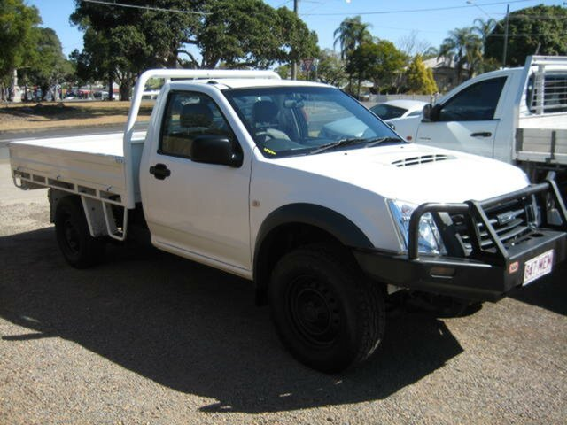 Used Isuzu D-MAX MY11 EX, 2012 Isuzu D-MAX MY11 EX White 5 Speed Manual 4x4 Cab Chassis