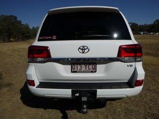 2018 Toyota Landcruiser VDJ200R GXL Glacier White 6 Speed Sports Automatic Wagon