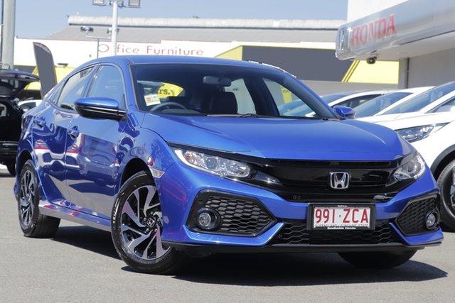 Demo Honda Civic 10th Gen MY19 +Luxe, Civic 5dr Auto Vti-SL 2019