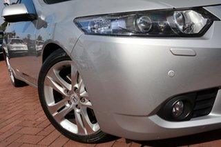2012 Honda Accord Euro CU MY12 Luxury Alabaster Silver 5 Speed Automatic Sedan.